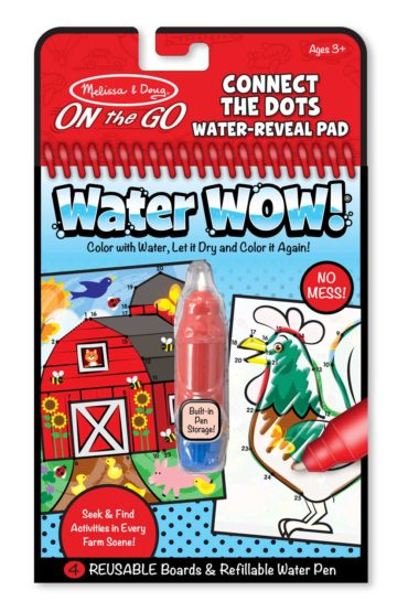 Melissa & Doug On the Go Water WOW activity pads