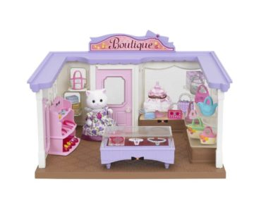 Play shop-shop with the Sylvanian Family Boutique
