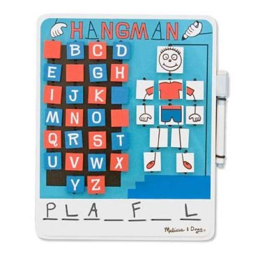 Flip to Win Hangman is perfect for travelling