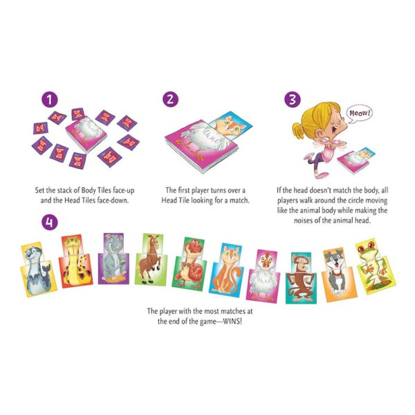Heads Talk, Tails Walk Card Game Instructions