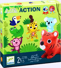Little Action game for throwing, balancing, aiming and catching