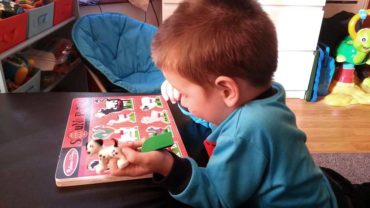 Sound puzzles provide instant feedback for children