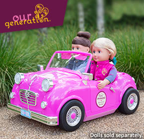 Our Generation dolls for designer doll play
