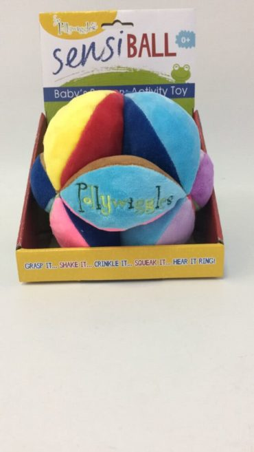 Pollywiggle's Sensiball for gentle baby stimulation