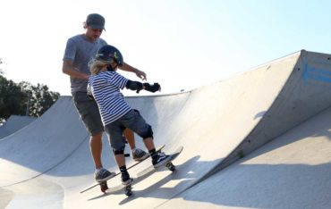Skateboards are good for core stability