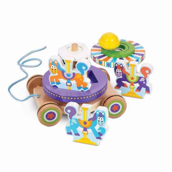 Carousel Pull Toy Melissa & doug
