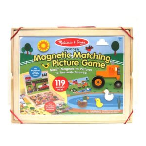 Melissa & Doug Magnetic Matching Picture Game Packaging