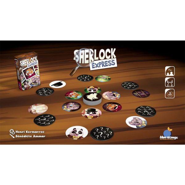 Sherlock Express Blue Orange Games
