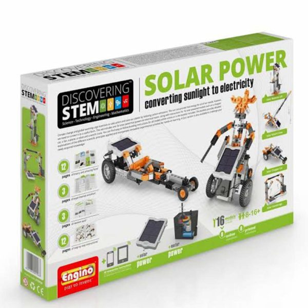 Stem Solar Power Set Engino