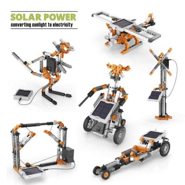 Stem Solar Power Set Engino Example