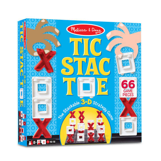 Tic Stac Toe​ Melissa & Doug Package