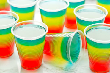 Make this Fun Rainbow Jelly with Your Kids