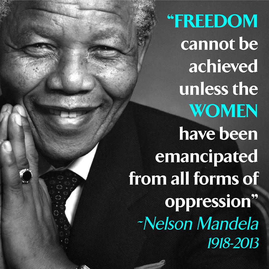 Women's Day Quotes - Nelson Mandela