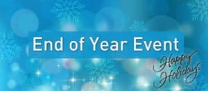 End of Year Event Banner
