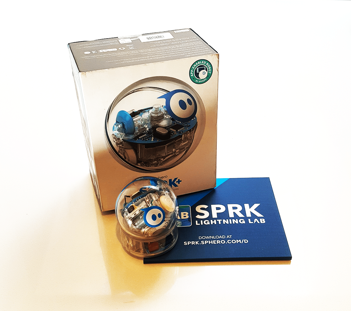 Sphero The Indestructible Robotic Programmable Ball Nikki Bush Bb8 Star Wars Special Edition Bundle By App Enabled Droid