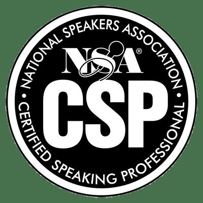 Certified Speaking Professional