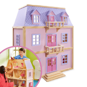 MELISSA & DOUG MULTI-LEVEL DOLLS HOUSE