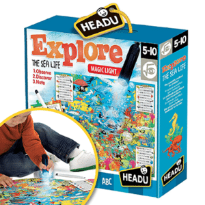 EXPLORE THE SEA LIFE PUZZLE (Headu)