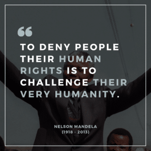 Human Rights Day Nelson Mandela Quote