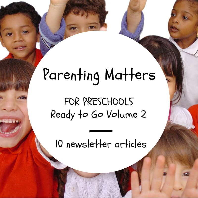 parenting matters pre-school nikki bush