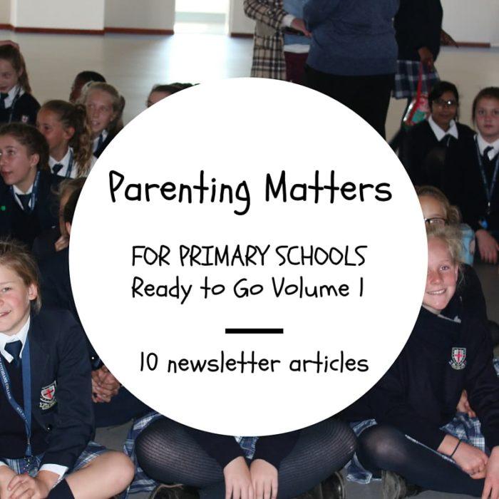 parenting matters by nikki bush