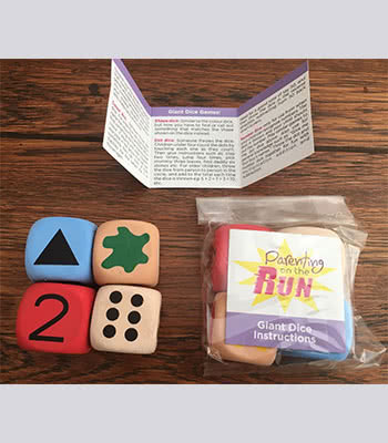 parenting on the run dice nikki bush