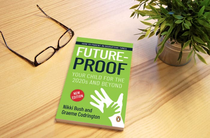 nikki-bush-graeme-codrington-future-proof-your-child-book-on-table